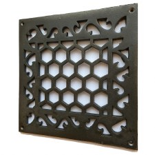 "Air Vent Cast Iron 8.1/2"" x 8.1/2"""