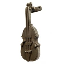Violin/Fiddle Door Knocker Antique Iron