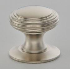 Croft 4105 Reeded Cabinet Knob Satin Nickel