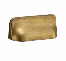 Croft 4124 Hudson Cabinet Pull Aged Brass 110mm
