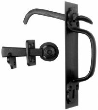 Kirkpatrick 4305 Canadian Thumb Latch Smooth Black