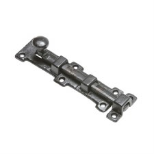 Kirkpatrick 4321 Straight Door Bolt Antique Black