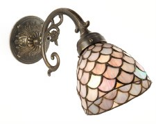 45º Large Wall Light Bronze