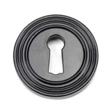 From The Anvil Round Escutcheon Beehive Black