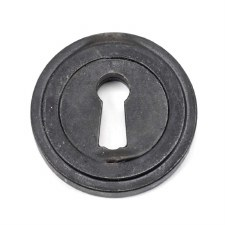 From The Anvil Round Escutcheon Art Deco External Beeswax