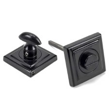 From The Anvil Round Thumbturn Set Square Black