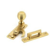 From The Anvil Beehive Sash Window Fastener Polished Brass
