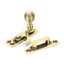 From The Anvil Beehive Sash Window Fastener Aged Brass