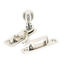 From The Anvil Beehive Sash Window Fastener Polished Nickel