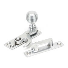 From The Anvil Beehive Sash Window Fastener Satin Chrome