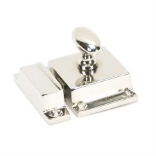 From The Anvil Cabinet Latch Polished Nickel