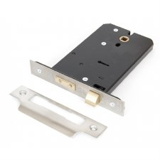 "From The Anvil 5 Lever Horizontal Mortice Lock 6"" Stainless Steel"