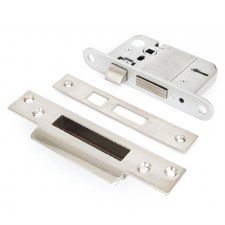 "From The Anvil 5 Lever Sash Lock BS 2.5"" Stainless Steel"