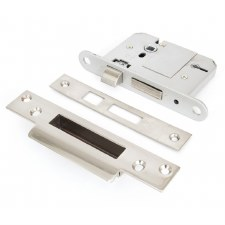 "From The Anvil 5 Lever Sash Lock BS 3"" Stainless Steel"