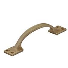 """Croft 5200 Plain 6"""" Cabinet Handle Light Antique Brass"""