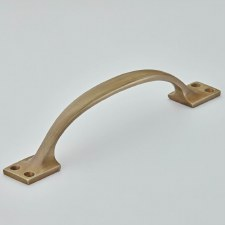 """Croft 5201 Plain 7.5"""" Cabinet Handle Light Antique Brass"""