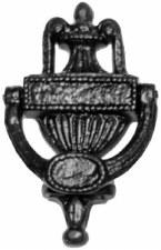 Kirkpatrick 578 Urn Door Knocker Antique Black