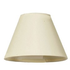 "6"" Pvc Coolie Shade Cream"