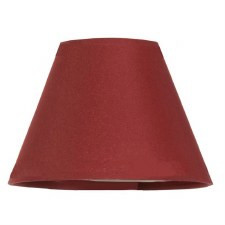 "6"" Pvc Coolie Shade Red"