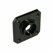 BROLITE 6060 Bakelite Square Back-plate ONLY Black