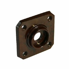 BROLITE 6060 Bakelite Square Back-plate ONLY Walnut