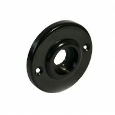 BROLITE 6065 Bakelite Round Back-plate ONLY Black