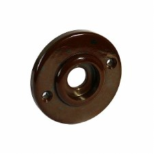 BROLITE 6065 Bakelite Round Back-plate ONLY Walnut