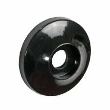 BROLITE 6067 Dudok Bakelite Round Back-plate ONLY Black