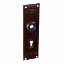BROLITE 6075 Bakelite Back-plate ONLY Walnut
