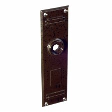 BROLITE 6077 Bakelite Back-plate ONLY Walnut