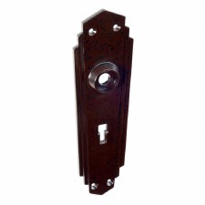 BROLITE 6085 Bakelite Back-plate ONLY Walnut