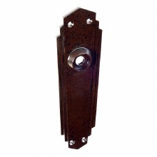 BROLITE 6095 Bakelite Back-plate ONLY Walnut