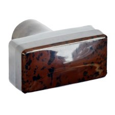 BROLITE 6119 Bakelite Tee-Shape Door Knob Walnut