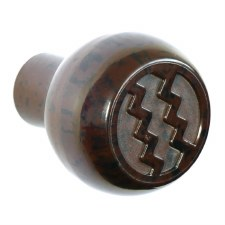 BROLITE 6120 Bakelite Ritz Knob ONLY Walnut