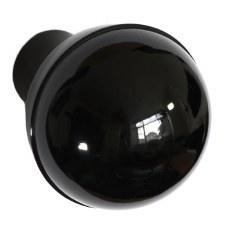 BROLITE 6122 Bakelite Ball Knob Knob ONLY Black