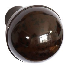 BROLITE 6122 Bakelite Ball Knob Knob ONLY Walnut
