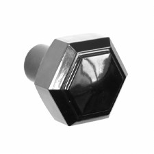 BROLITE 6130 Bakelite Hexagonal Knob ONLY Black