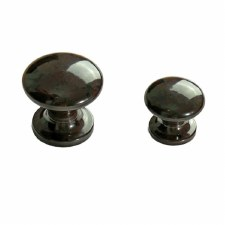 BROLITE 6215 Bakelite Cupboard Knob 30mm Walnut