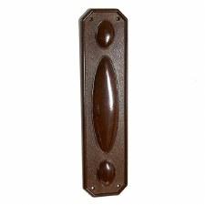 BROLITE 6270 Bakelite Finger Plate Walnut