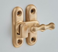 Croft 6392 Cabinet Catch Satin Brass