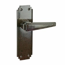 BROLITE 6614 Real Bakelite Unsprung Door Handles Walnut
