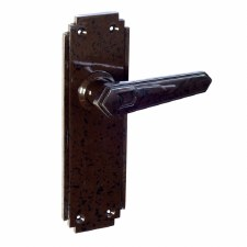 BROLITE 6615 Real Bakelite Unsprung Door Handles Walnut