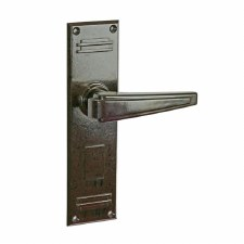 BROLITE 6620 Real Bakelite Unsprung Door Handles Walnut