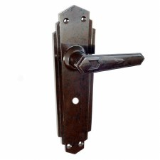 BROLITE 6630 Real Bakelite Unsprung Bathroom Handles Walnut