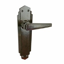 BROLITE 6632 Real Bakelite Unsprung Door Handles Walnut