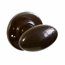 BROLITE 6820 Real Bakelite Door Knobs Walnut