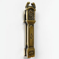 Clock Door Knocker Renovated Brass