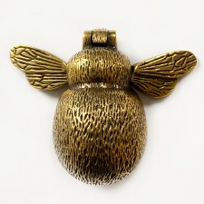 Bumblebee Door Knocker Renovated Brass