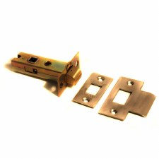 Tubular Mortice Door Latch 70mm Satin Steel