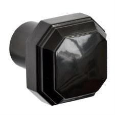 Brolux Bakelite 7150 Door Knob Black